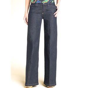 Paige Hillhurst Wide leg Denim Trouser